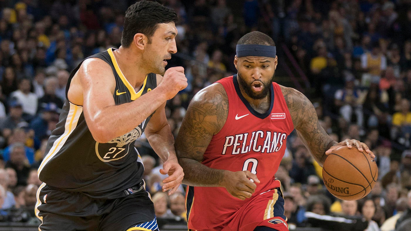 86da14a030f Fantasy Basketball  DeMarcus Cousins joins Warriors in free agency roundup