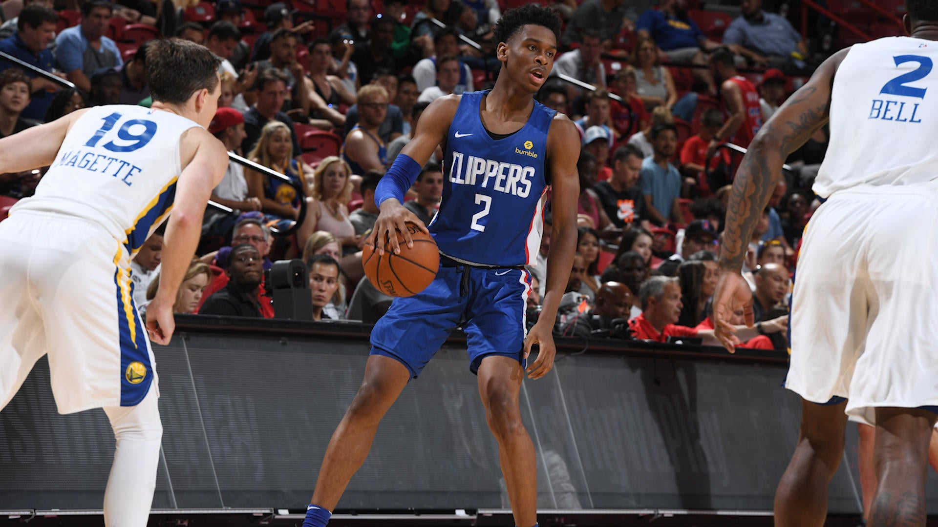 Shai Gilgeous Alexander Looks Nothing Like A Guy Who At This Time Last Year Was Ranked Outside The Top  In His High School Graduation Class With Hopes