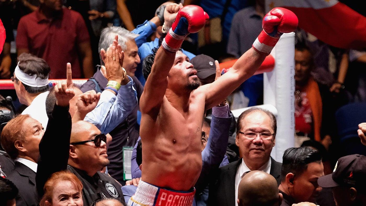 Sports news tagalog boxing