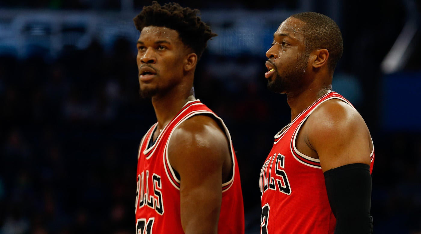Dwyane Wade called out Jimmy Butler for a comment on