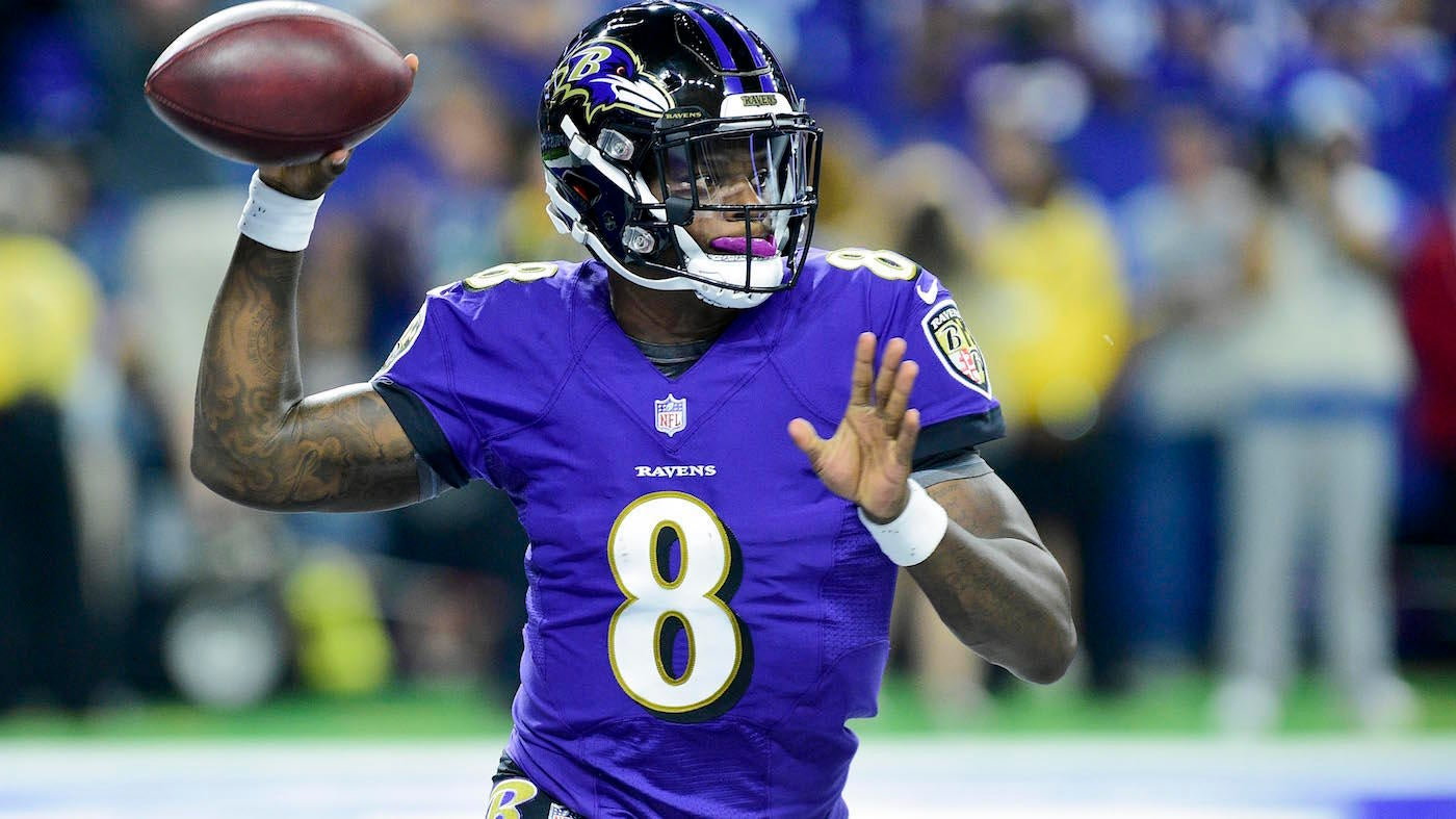 18d160b1d Joe Flacco sits out practice but Lamar Jackson could have other competition  to start for Ravens - CBSSports.com