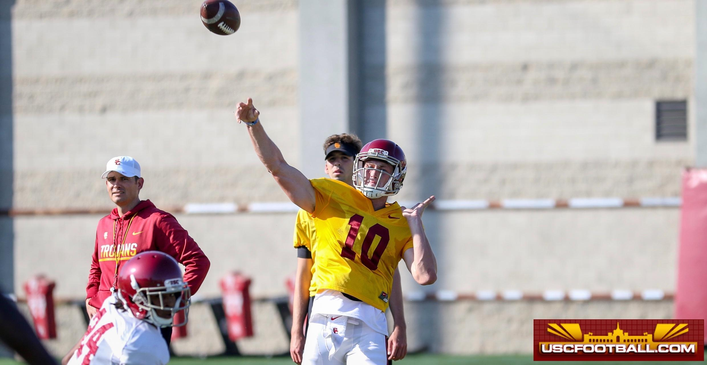 Jack Sears Proud Of Improvements Where He Stands In Uscs Qb