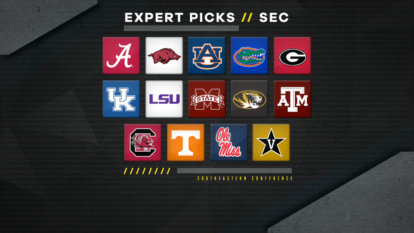 2018 Sec Expert Picks Overrated Underrated Teams And Predicted