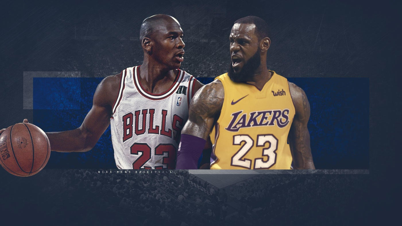 b078ef098278 Candid Coaches  Who s the real GOAT -- Michael Jordan or LeBron James