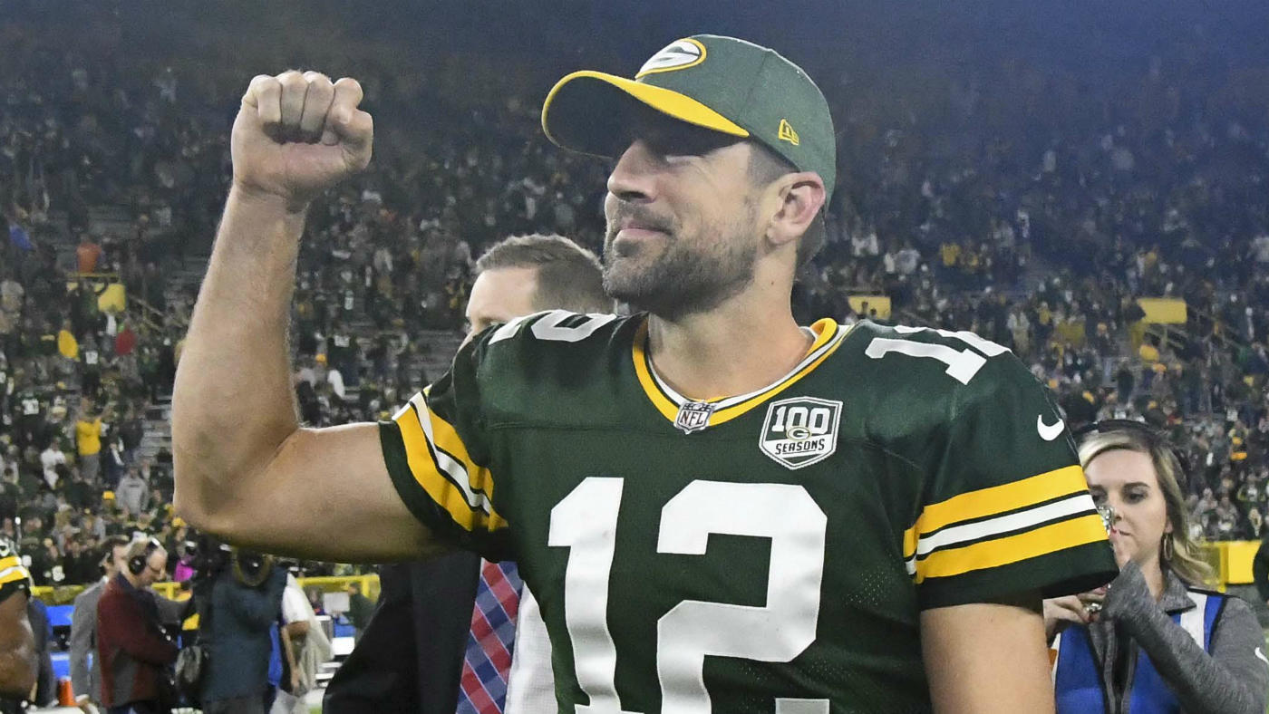 Aaron Rodgers Packers Final Score Takeaways Injured Leads Epic Comeback Over Upstart Bears Cbssports Com