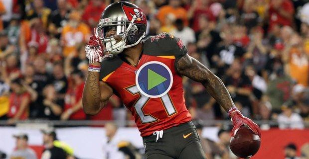 WATCH: Justin Evans With Impressive INT On MNF