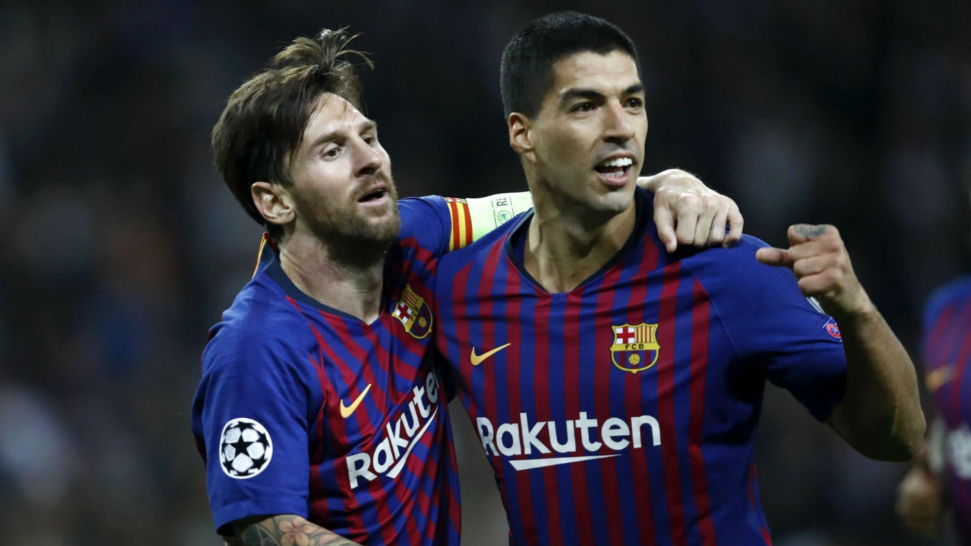 0a26d18fc76 Champions League final scores, takeaways: Messi, Barcelona destroy Spurs;  Napoli tops Liverpool - CBSSports.com