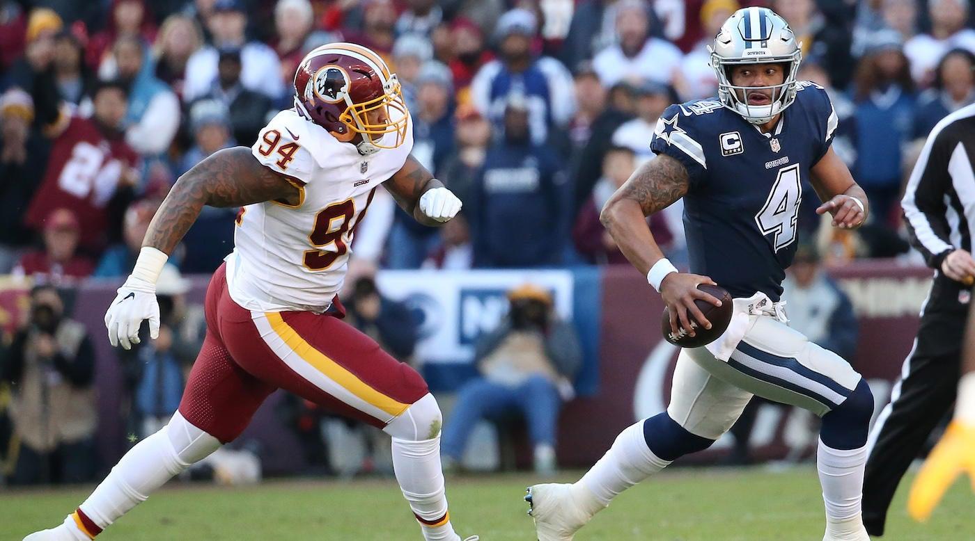 Cowboys Vs Redskins Final Score Takeaways Dak Prescott