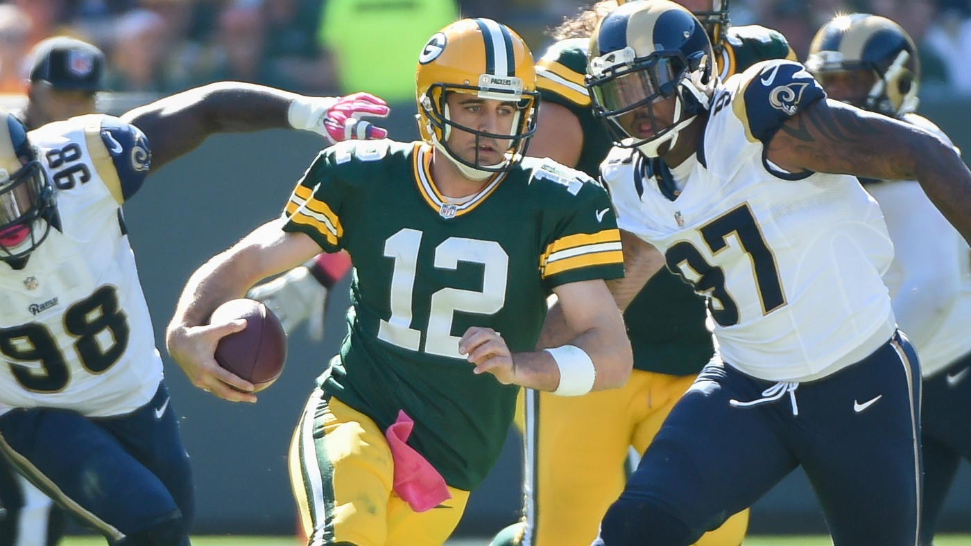 NFL Week 8 Early Odds: Packers Open As Biggest Underdog Of Aaron Rodgers' Starting QB Career