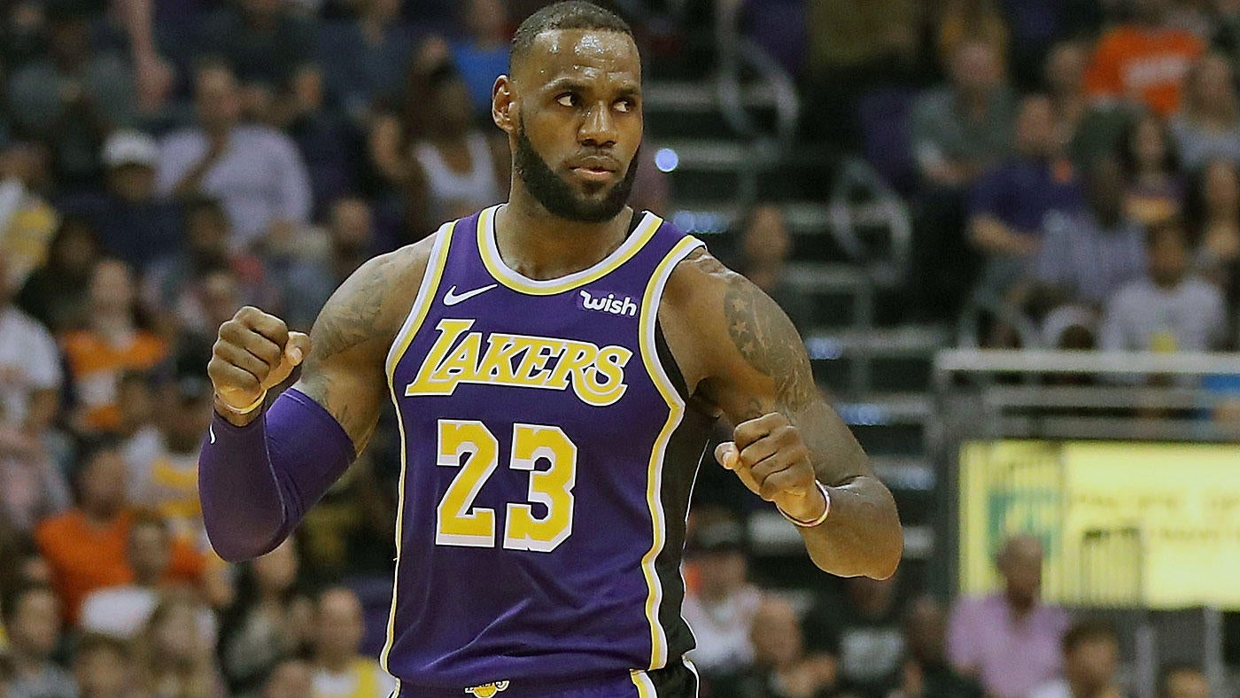 c34891464cee NBA Star Power Index  LeBron James has Lakers humming  Kevin Durant getting  taste of Warriors  life without Steph Curry - CBSSports.com