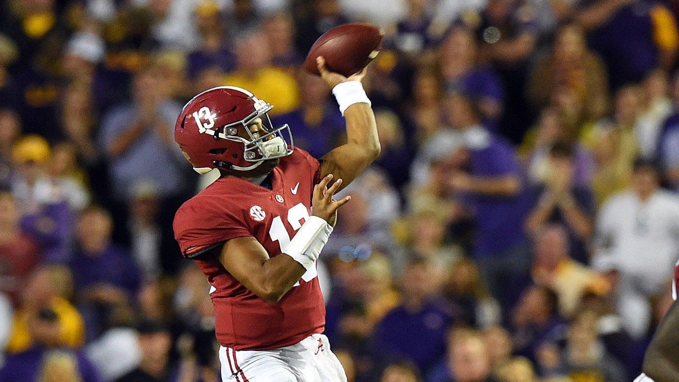 7a04a14c4da WATCH: Tua Tagovailoa throws first interception of the season in first half  vs. LSU. The Alabama quarterback ...
