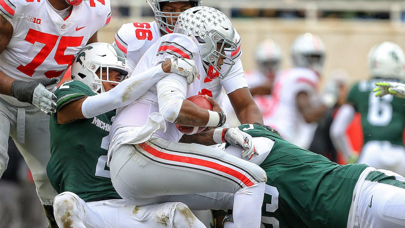 Ohio State Vs Michigan State Score No 10 Buckeyes Grind Out
