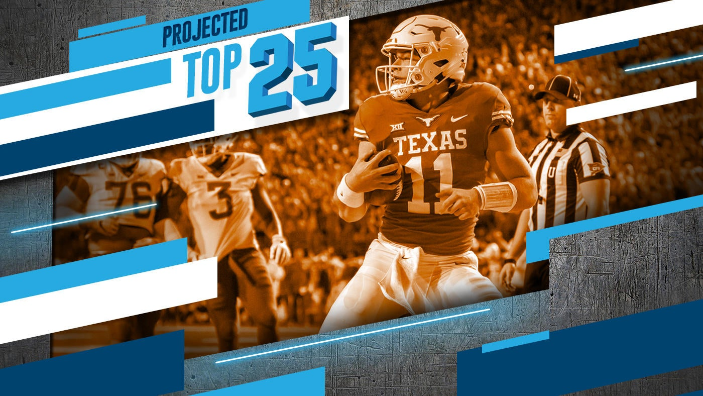 Tomorrow S Top 25 Today Texas Among Teams Getting Bumped Up In