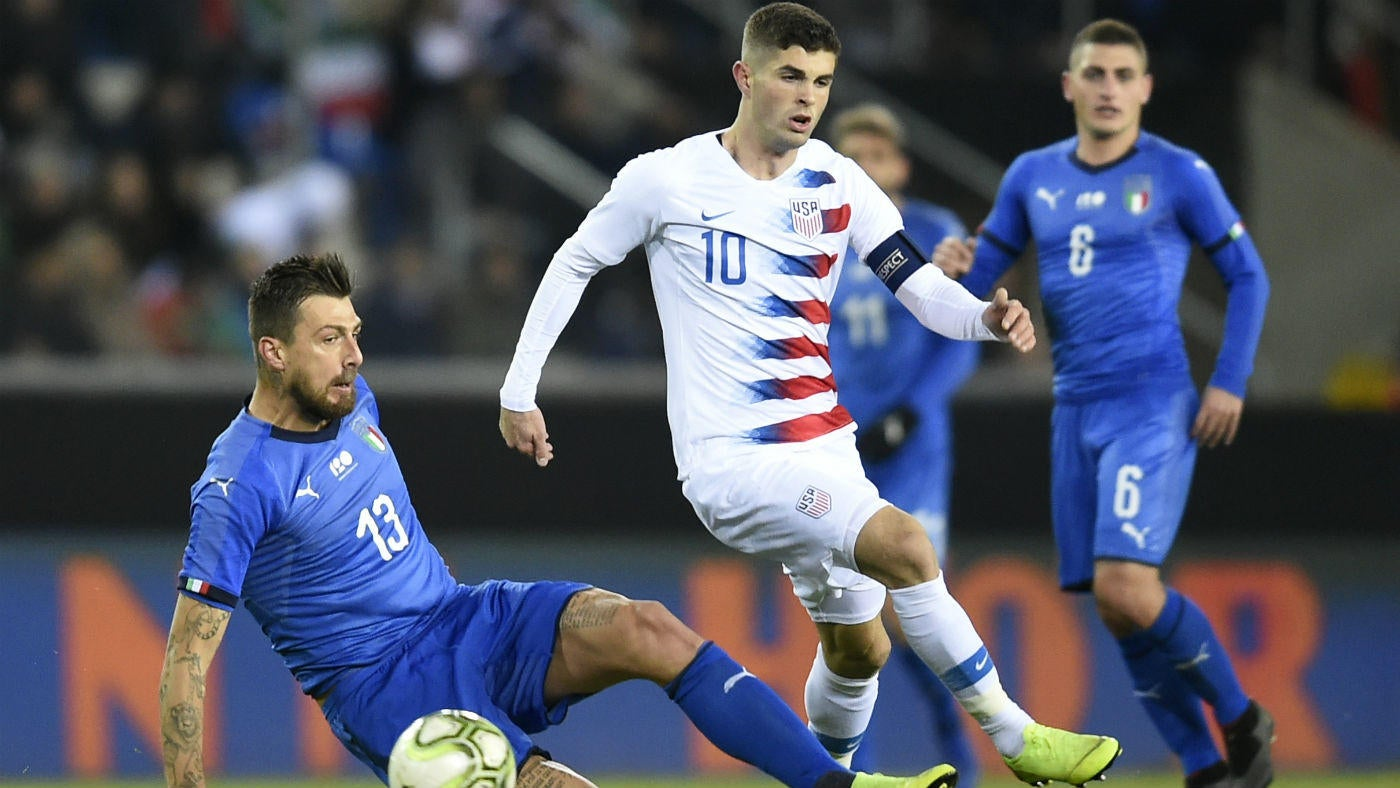 USA vs  Italy score: Pulisic, USMNT lose final game of 2018