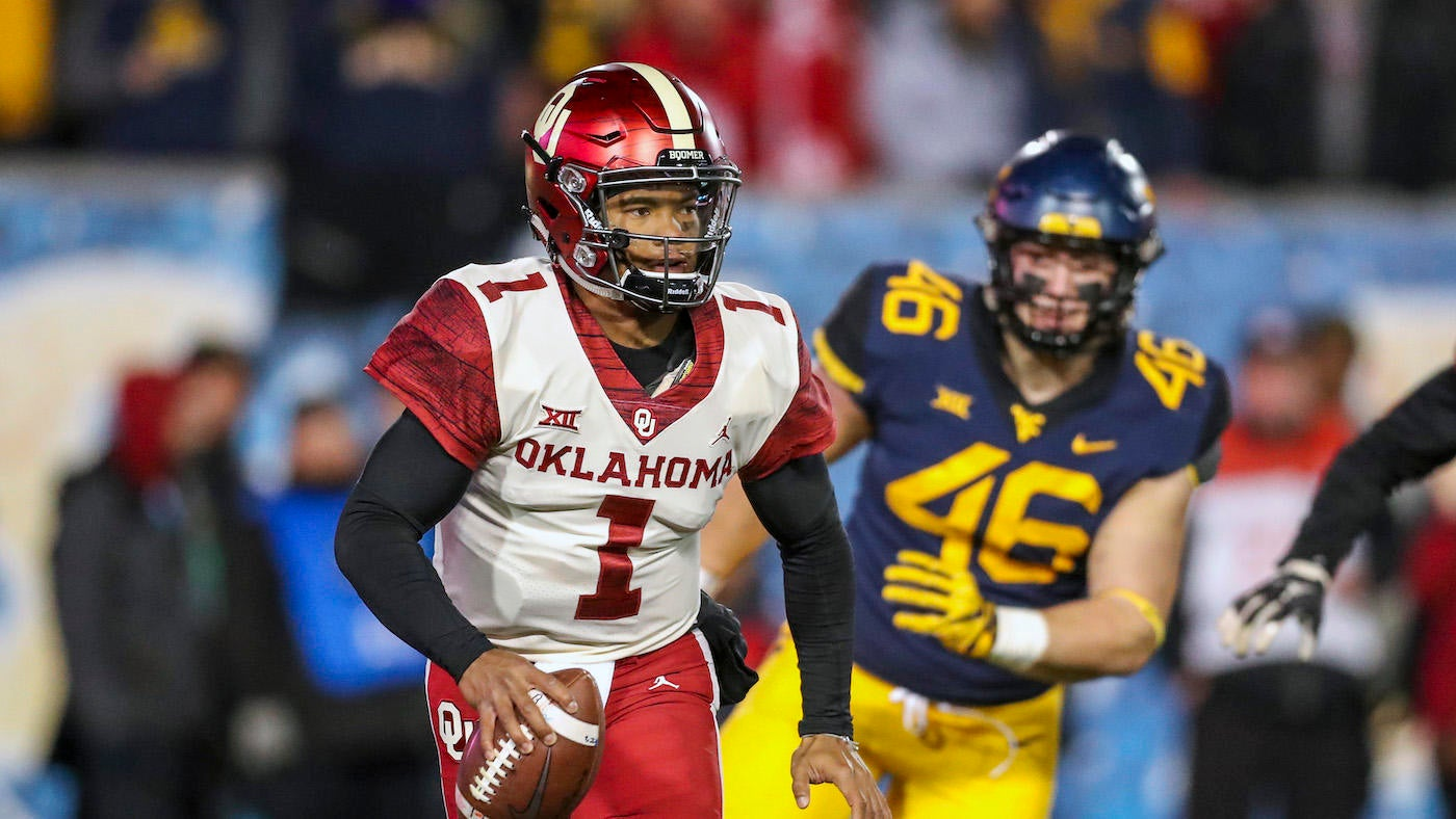 Oklahoma Vs West Virginia Score No 6 Sooners Survive Wild