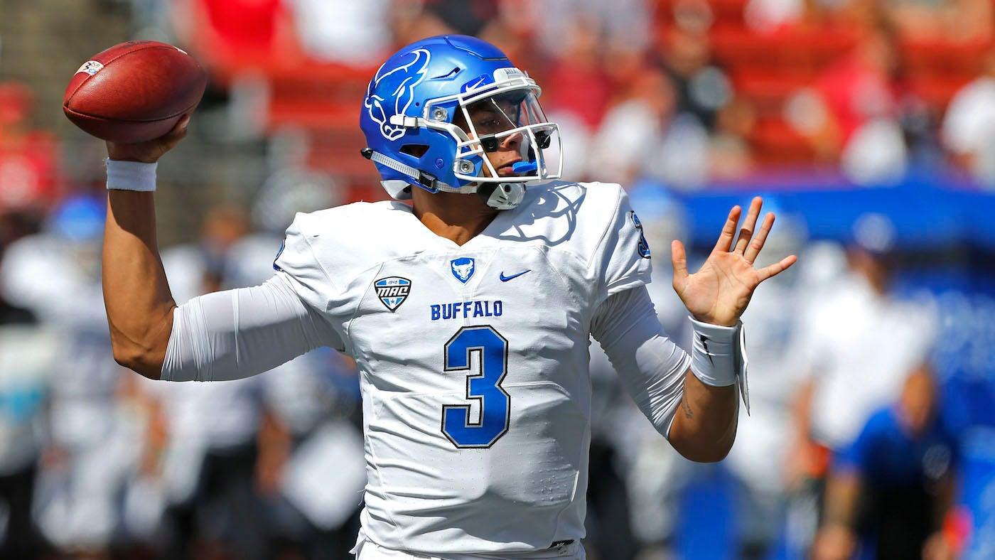 2019 NFL Draft  Buffalo quarterback Tyree Jackson latest play caller to  enter draft class 8564308b9