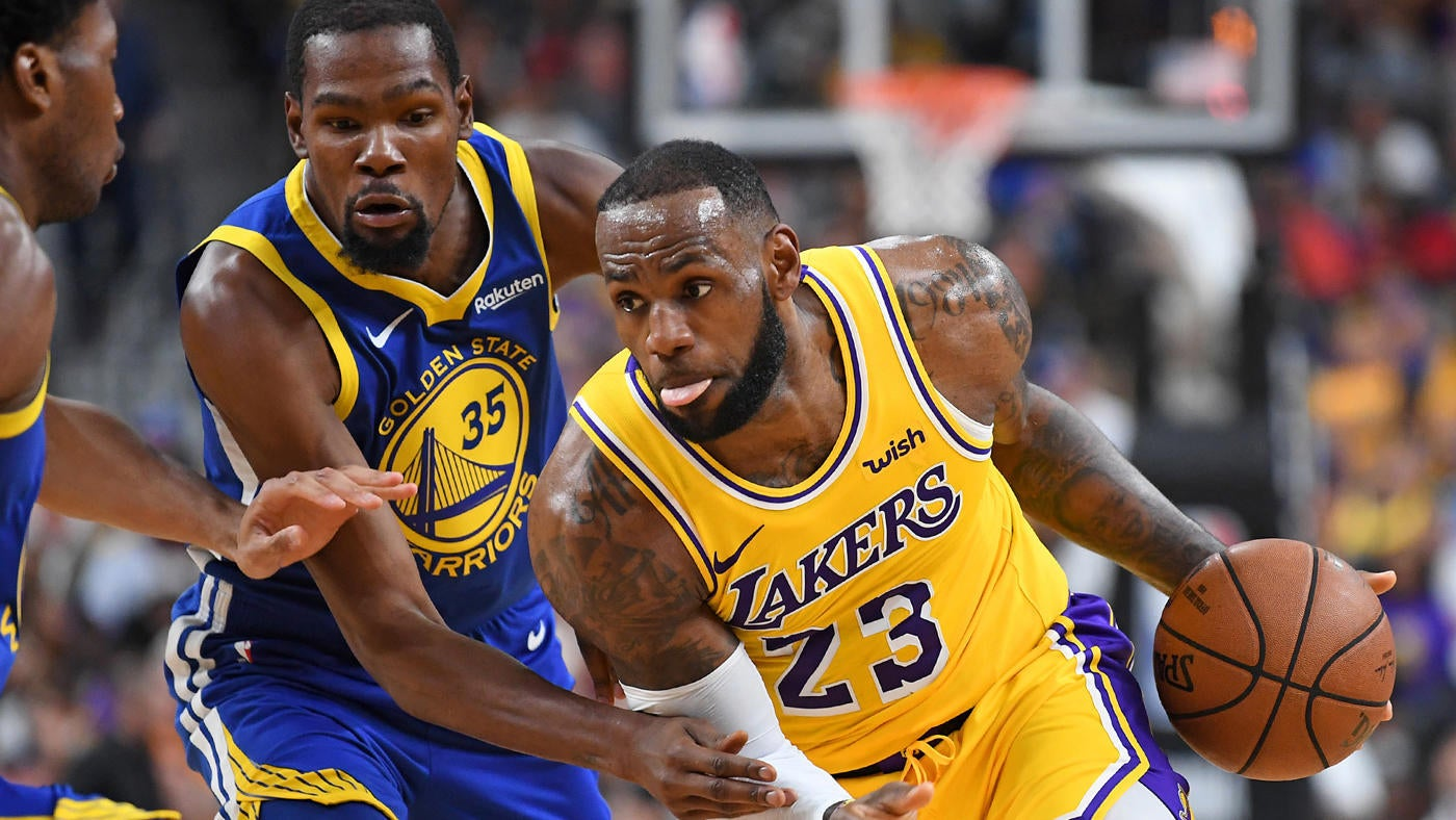 edad76cdd64d Lakers vs. Warriors score  Takeaways as Lakers overcome LeBron James   injury to beat the Warriors - CBSSports.com
