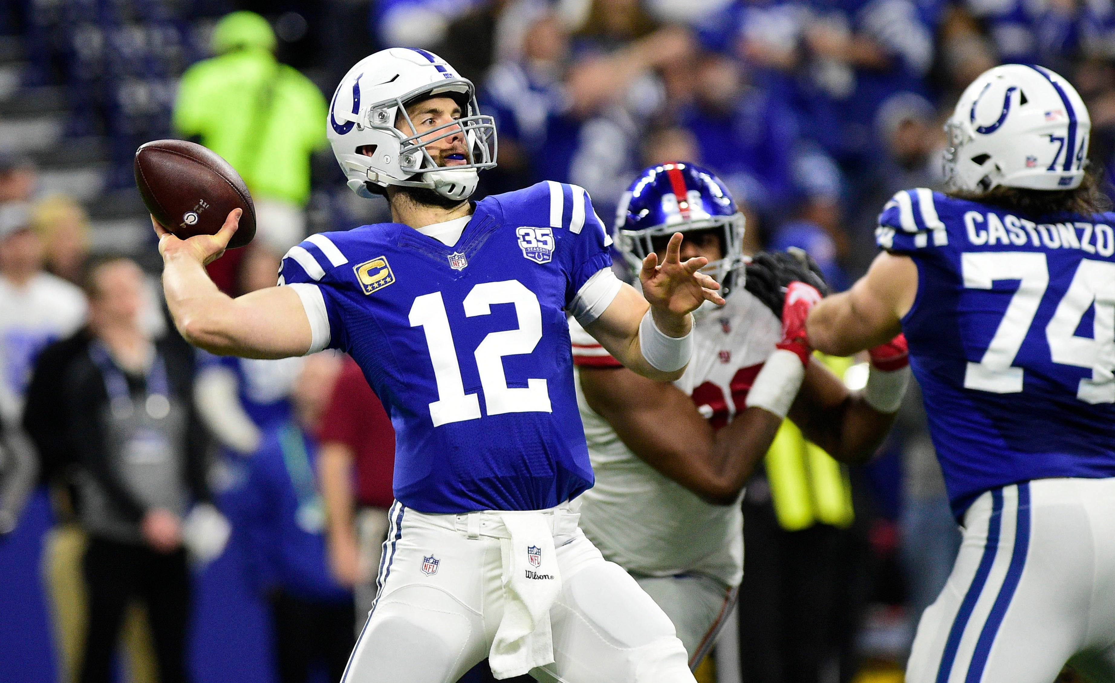 Colts Vs Titans Final Score Takeaways Andrew Luck Indy S