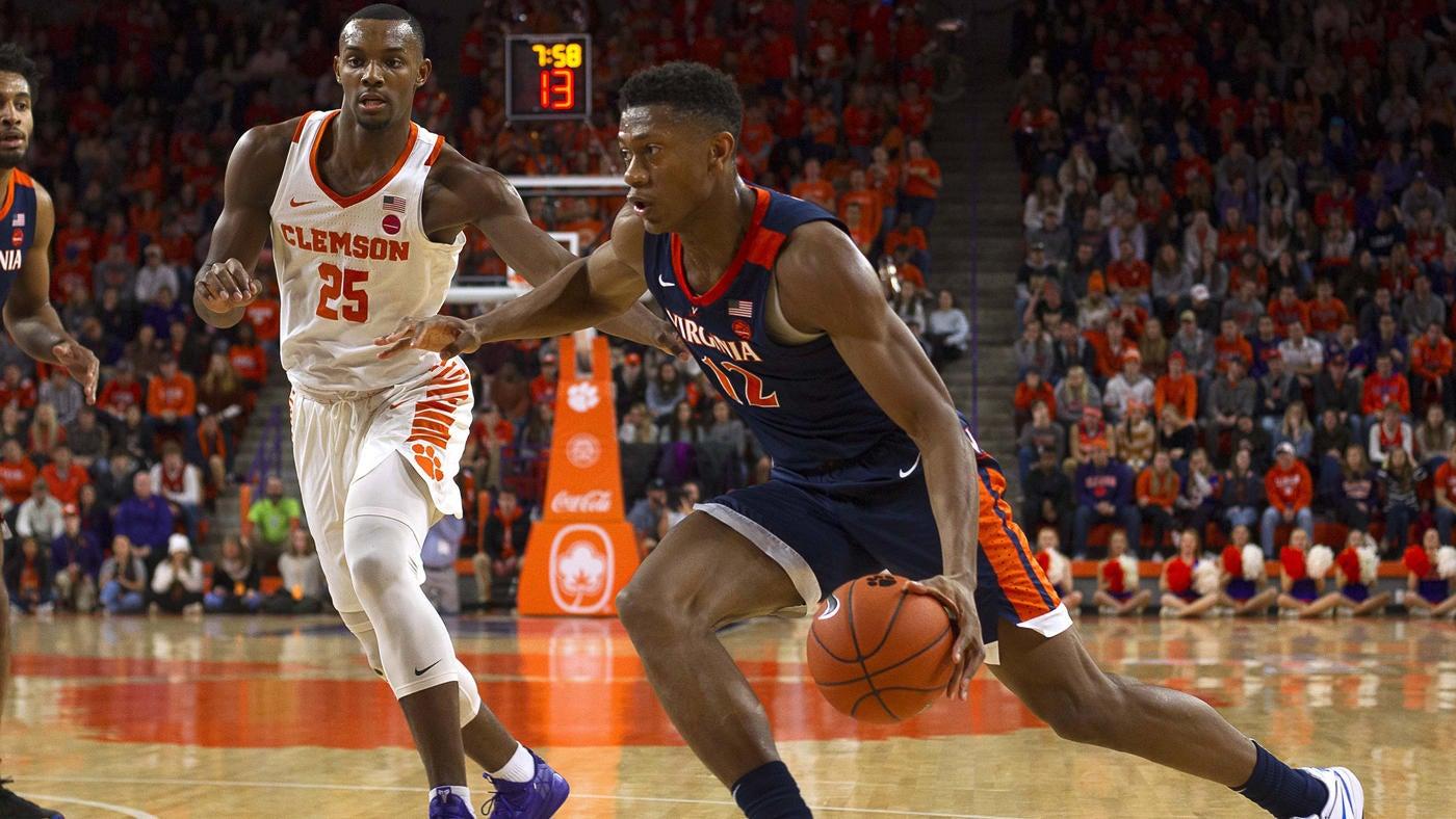 College Basketball Rankings Undefeated Virginia Ahead Of