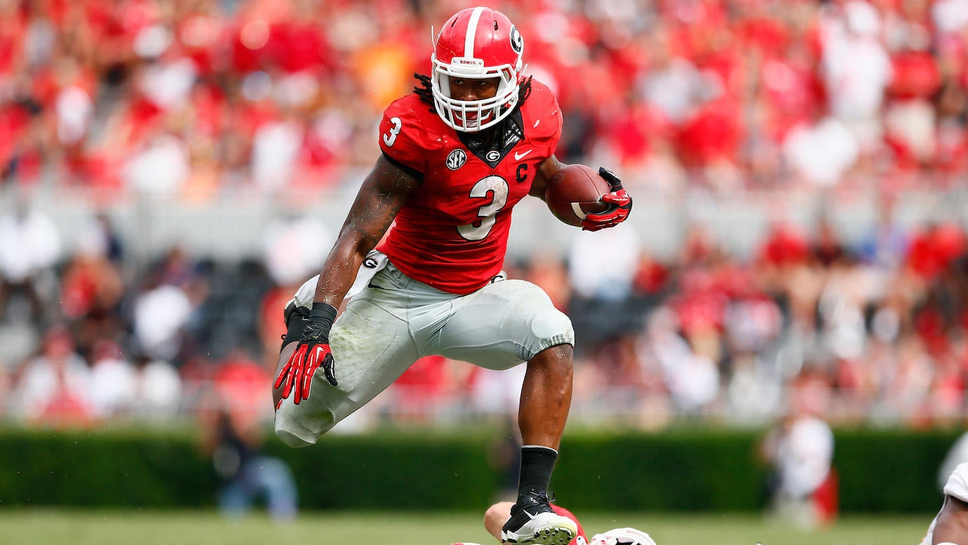 2d9882621 Super Bowl 2019: Todd Gurley and Sony Michel set to showcase Georgia as 'Running  Back U' - CBSSports.com