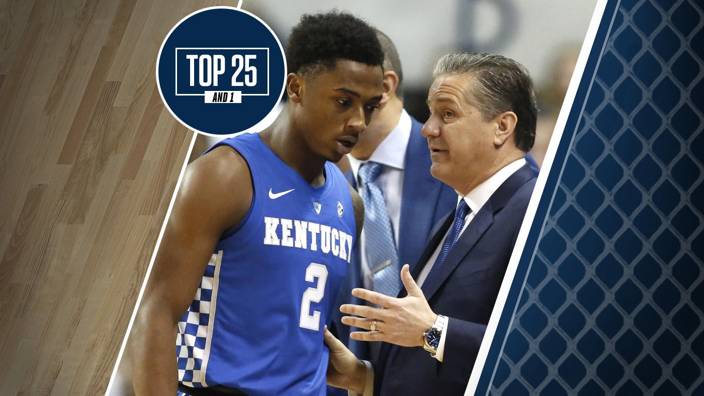 College Basketball Rankings Here S How The Kentucky Vs