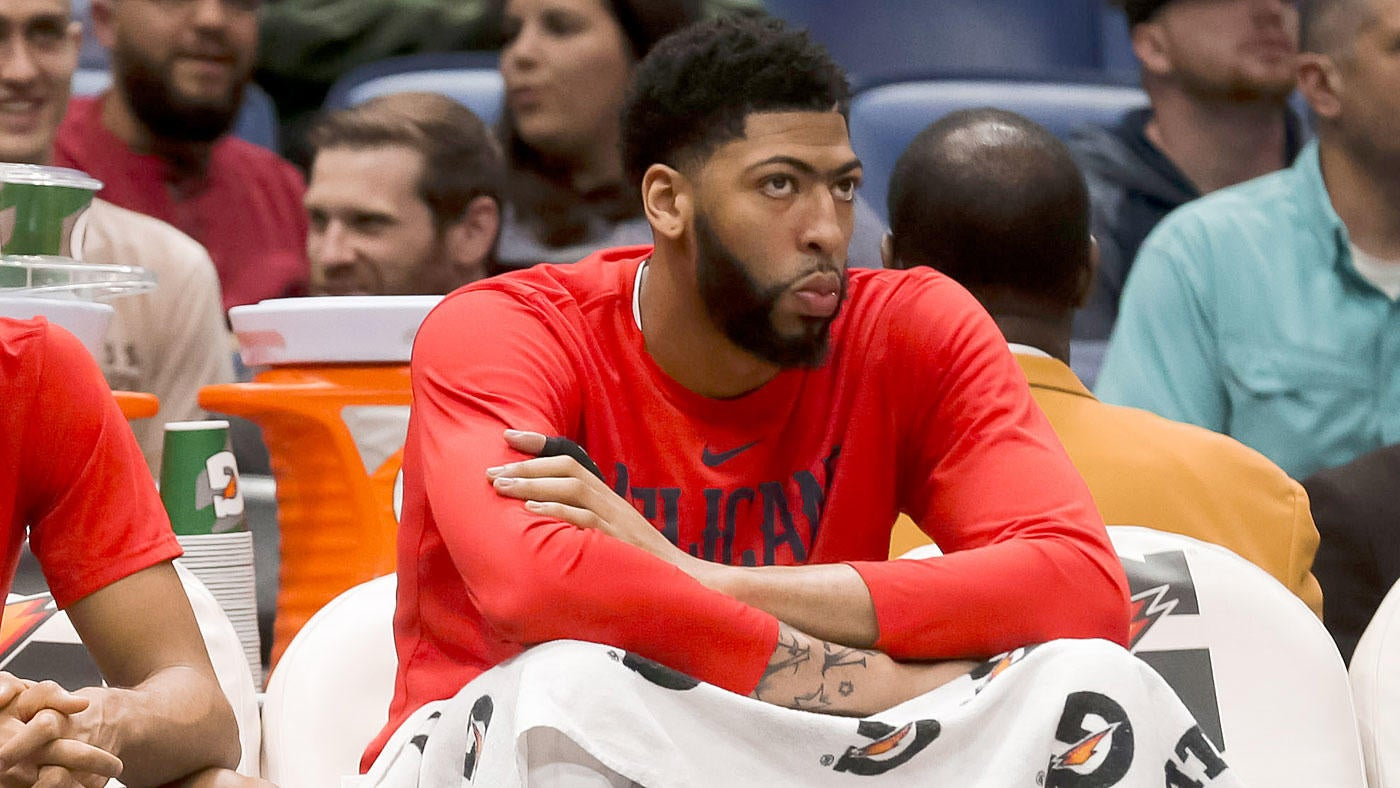 8c23452e1 Anthony Davis lets out frustration with Pelicans after 30-point loss to  Magic   We sucked  - CBSSports.com