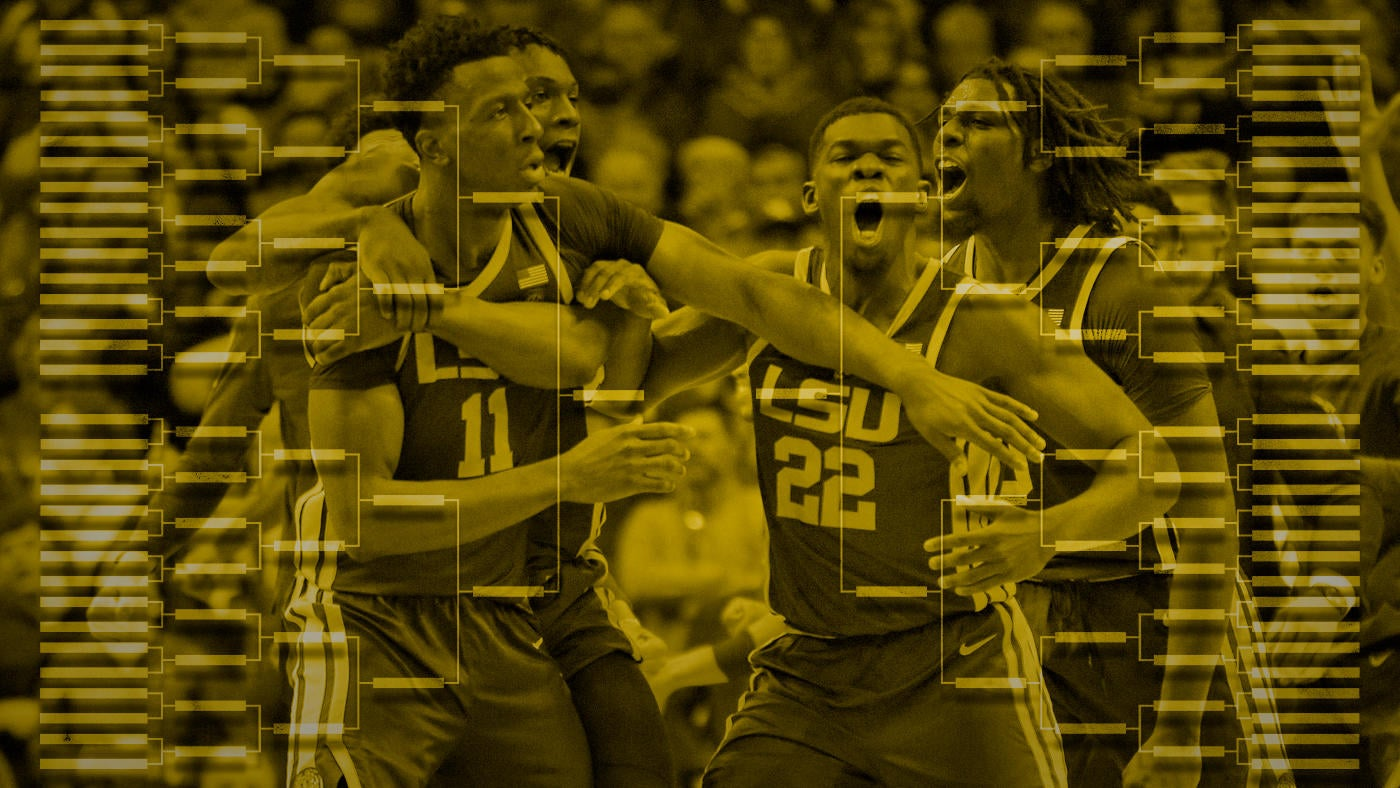19a6dc6b3e4 2 seeds swap spots and LSU leaps up to a No. 3 seed in latest NCAA  Tournament bracket projection