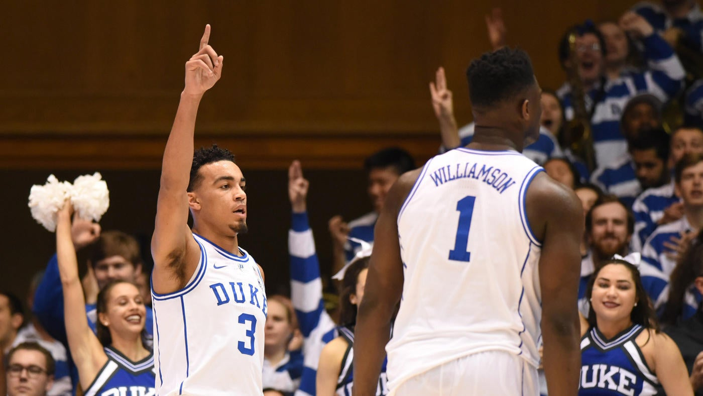 College Basketball Rankings Duke Replaces Tennessee As The