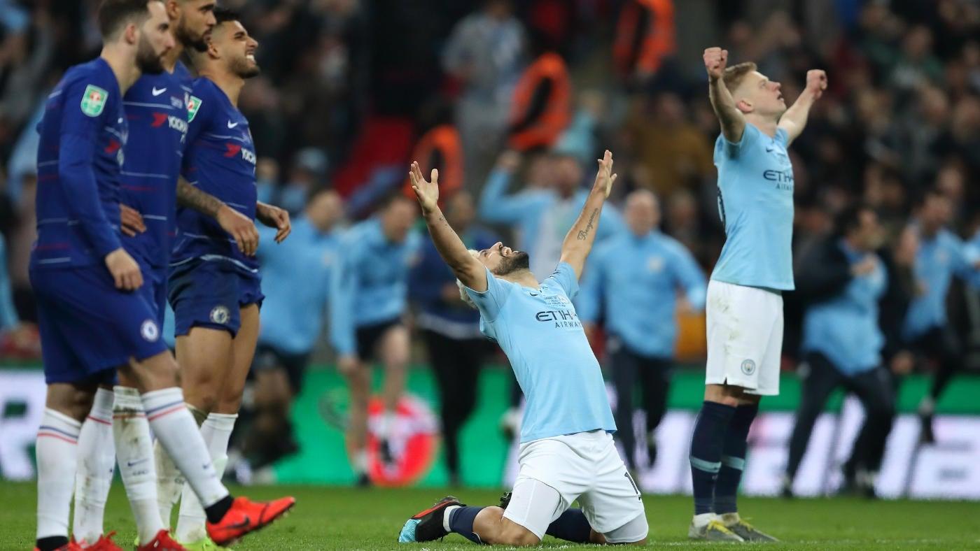 Manchester City vs. Chelsea score: Kepa-Sarri battle steals the show before  City captures trophy in penalty kicks - CBSSports.com