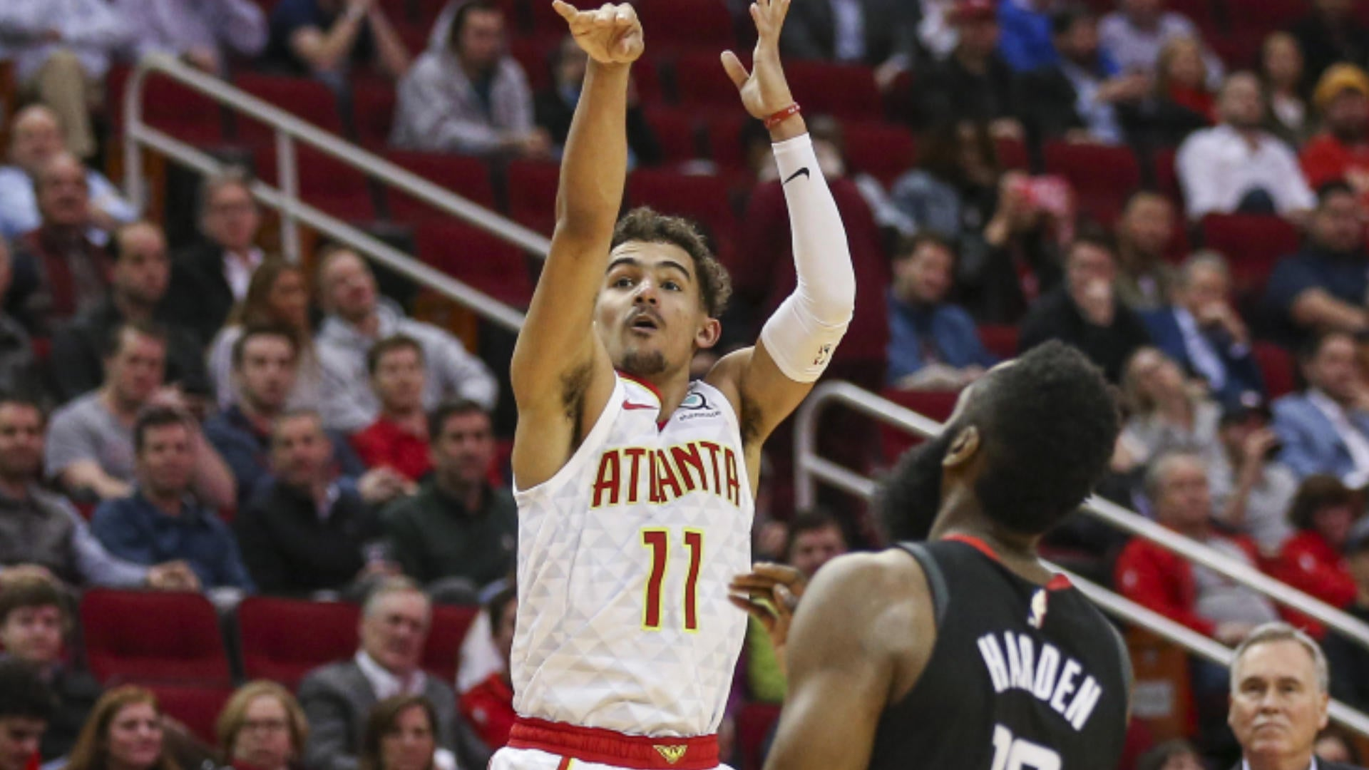 Off The Bench Trae Young Showing Rapid Rookie Improvement
