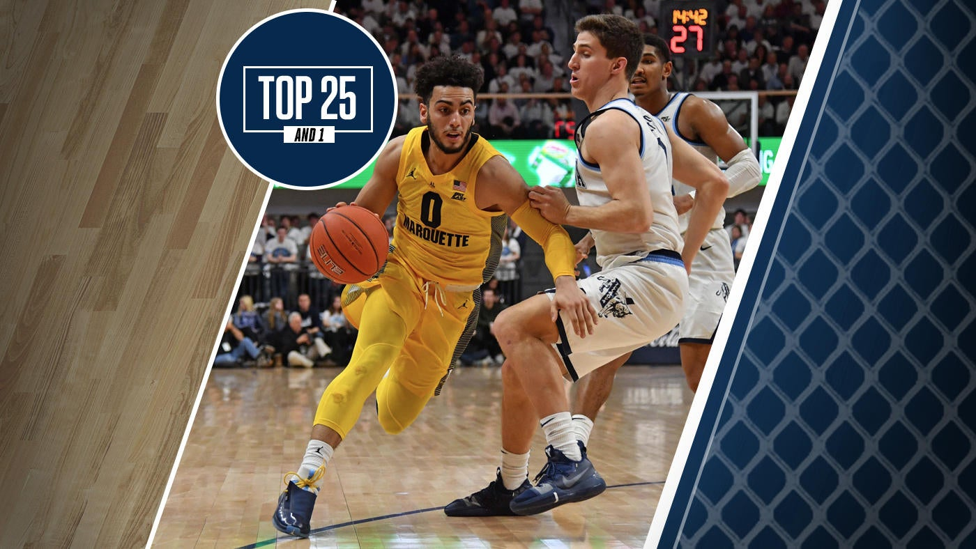 College Basketball Rankings Marquette No 10 In Top 25 And