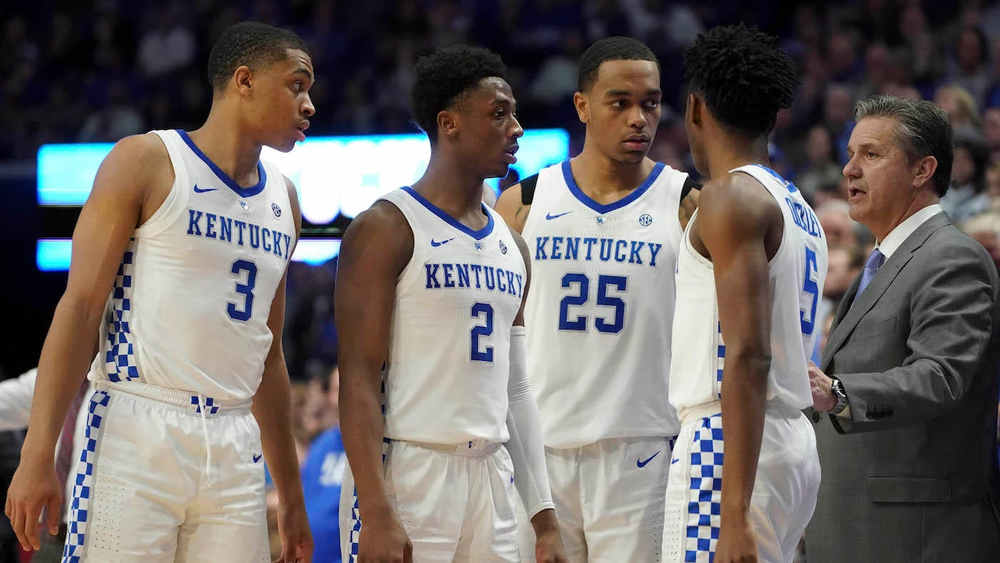 College Basketball Rankings Kentucky Jumps Into Top Five Of