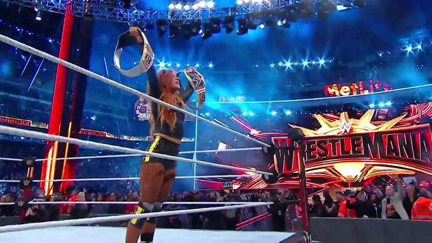2019 WWE WrestleMania 35 results, grades, review, matches: Becky