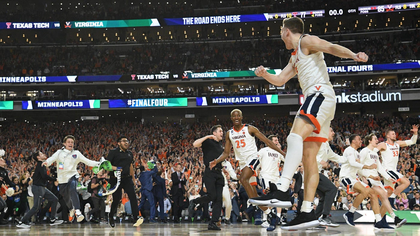 445e3ce713b 2019 NCAA Tournament championship  Virginia completes epic journey from  last year s ugly exit to win its first title
