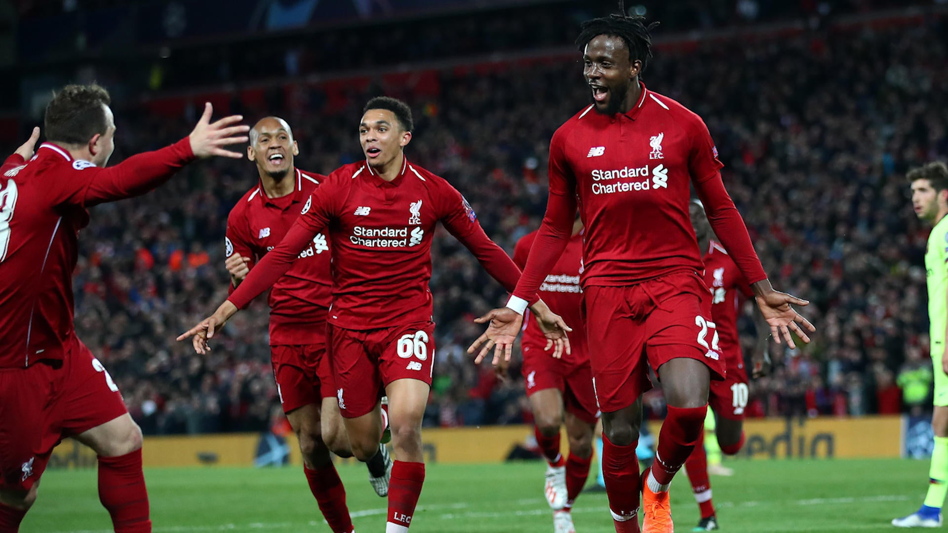 Image result for Liverpool Beat Tottenham to win Champions League