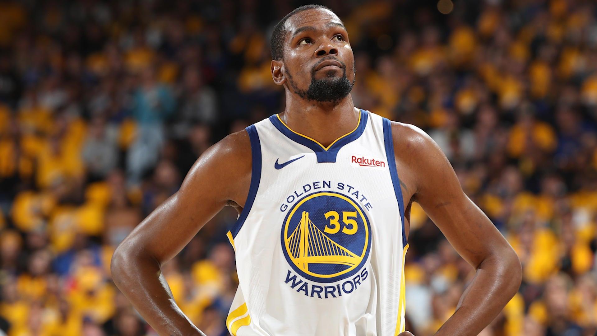 buy online ec2c9 8ec51 Kevin Durant Status In Doubt Ahead Of Western Conference Finals