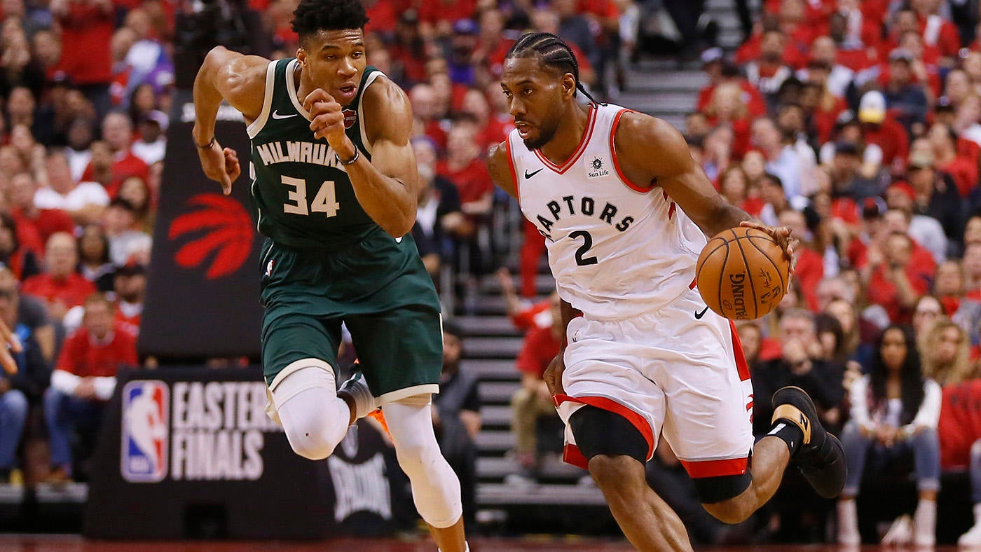 super popular c18ba 986b8 Raptors Game 6 score, takeaways  Kawhi Leonard leads Toronto to first NBA  Finals in franchise history - CBSSports.com