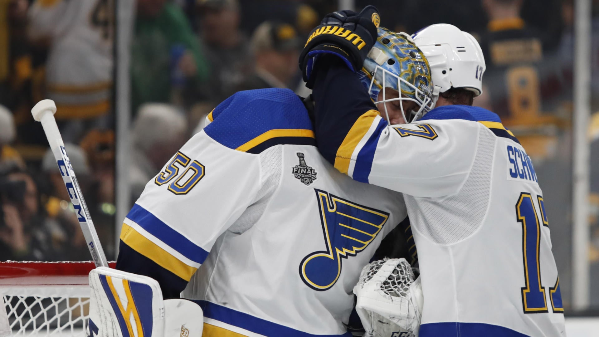 Stanley Cup Final 2019 Blues Stifle Bruins 4 1 In Game 7 To Win