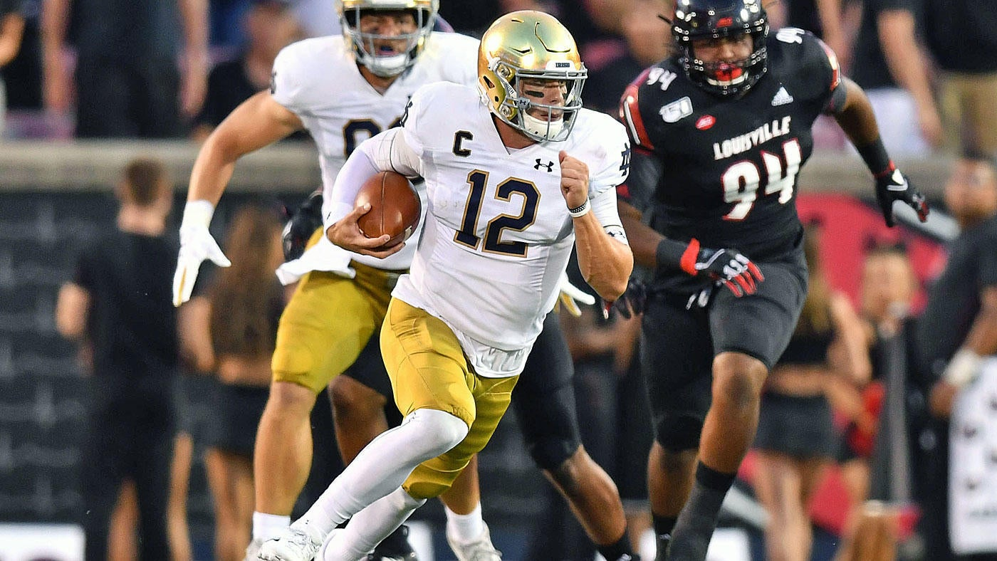 Notre Dame vs  Louisville score, takeaways: No  9 Irish