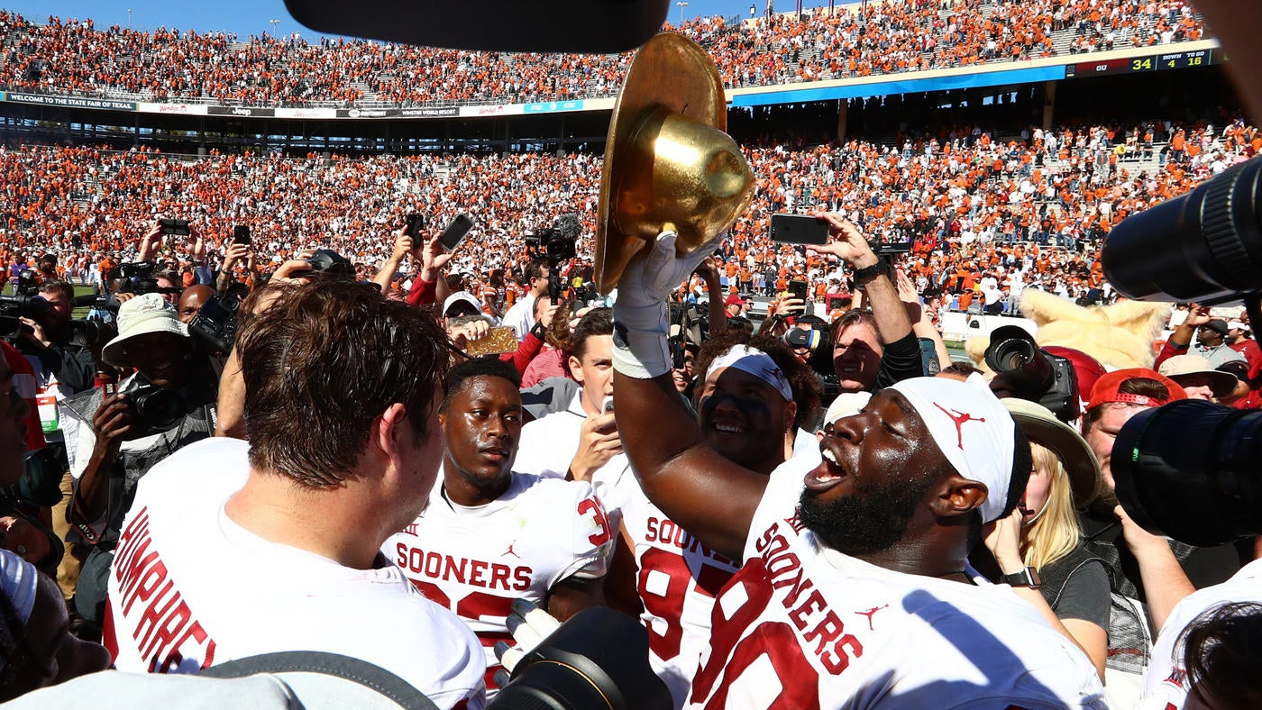 Oklahoma Vs Texas Score Defense Leads Sooners To Victory Over Longhorns In Red River Showdown Cbssports Com