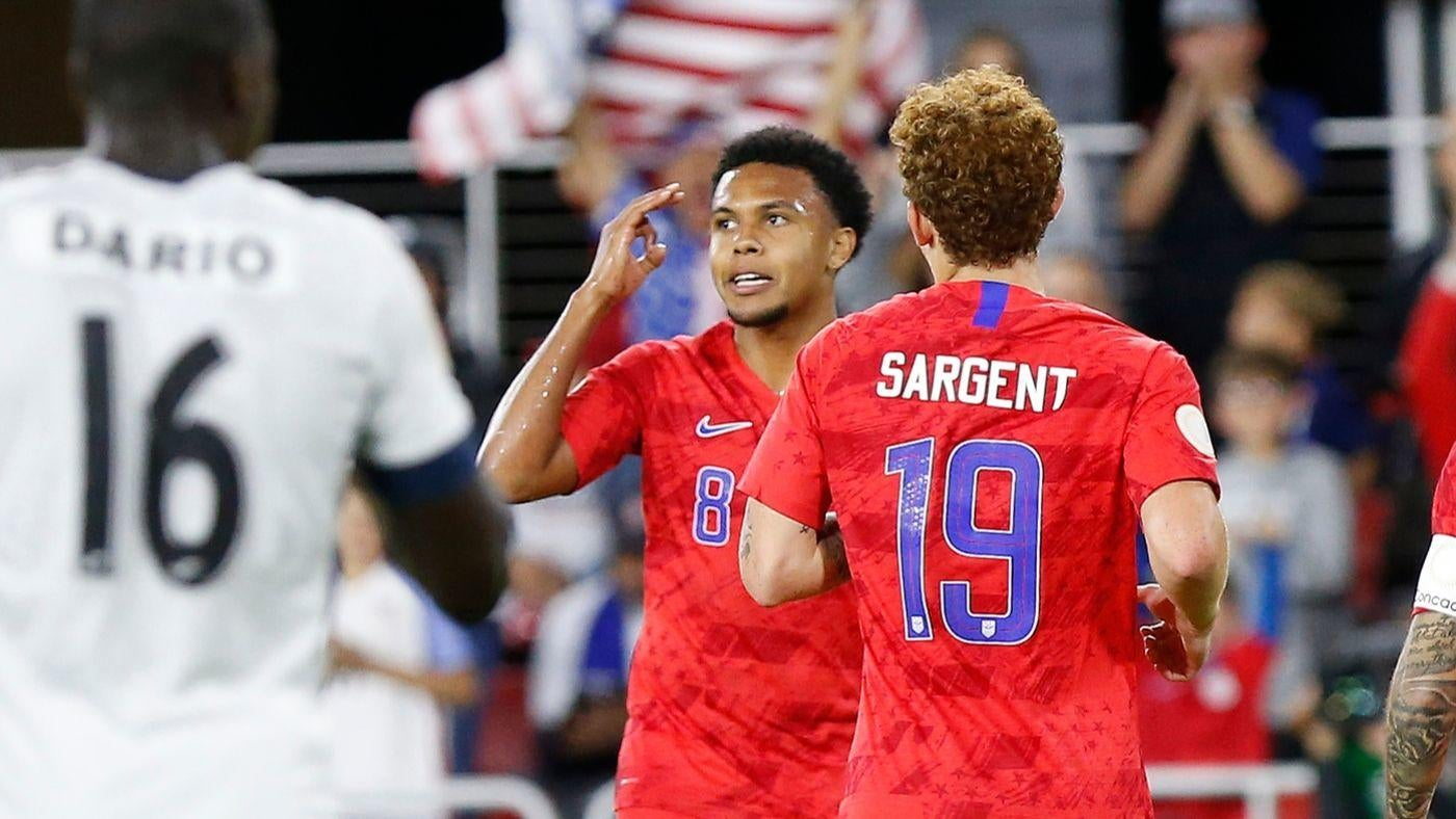 USMNT vs. Cuba score: Weston McKennie scores hat trick in first 13 minutes as U.S. rolls to victory - CBSSports.com