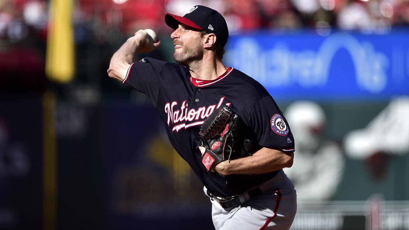 Nationals vs. Cardinals score: Live NLCS Game 2 updates as Max Scherzer loses no-hitter in seventh inning