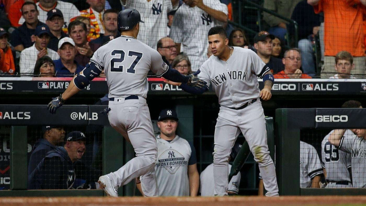 Yankees vs. Astros score: Bronx Bombers go deep three times, pull away from Houston in ALCS Game 1