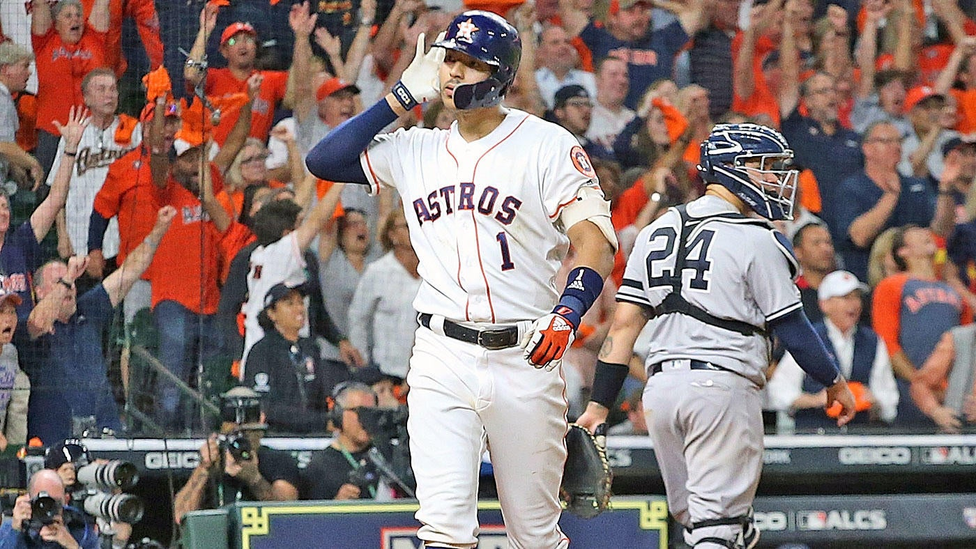 Astros vs. Yankees score: Carlos Correa evens up ALCS with 11th-inning walk-off homer in Game 2