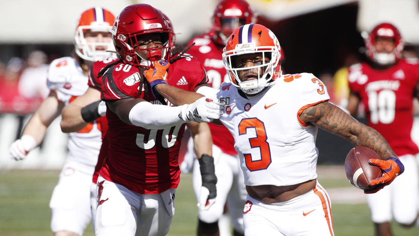 Clemson vs. Louisville score: No. 3 Tigers bounce back from slow start for easy win over Cardinals