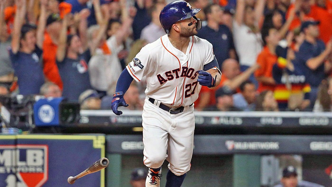 Astros Vs Yankees Score Jose Altuve S Walk Off Homer Gives