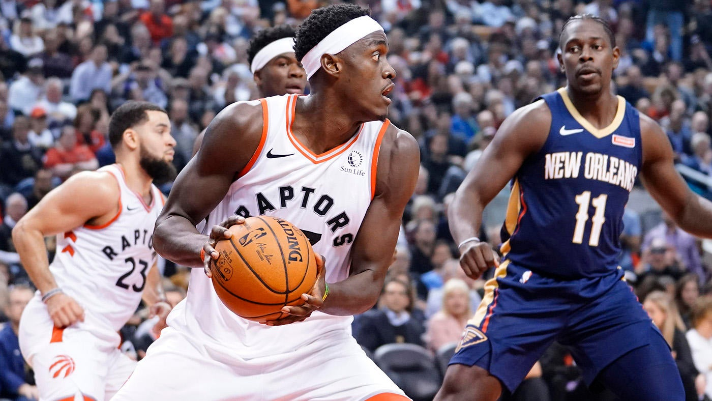 Image result for nba 2019/20 pascal siakam vs pelicans