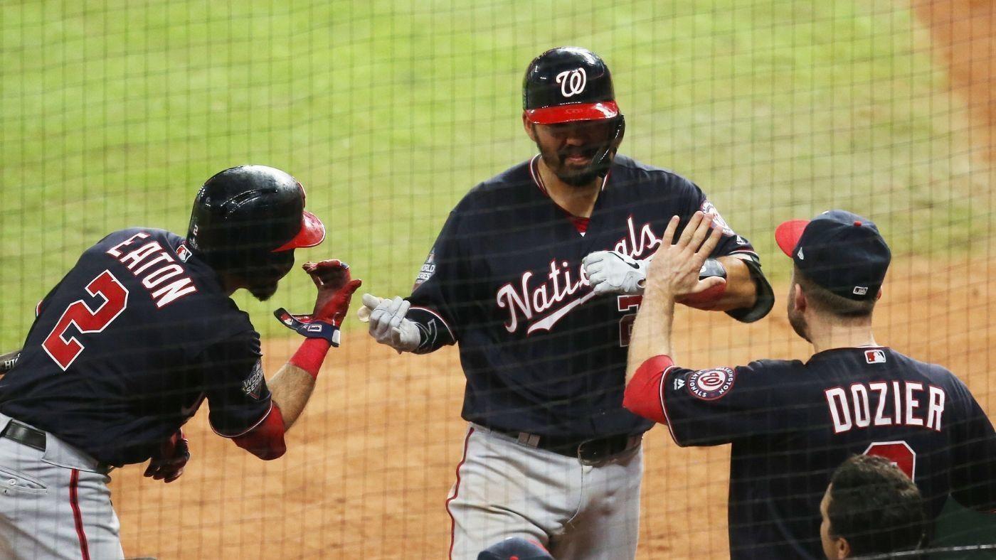 Astros Vs Nationals Score Washington Uses Big Inning To