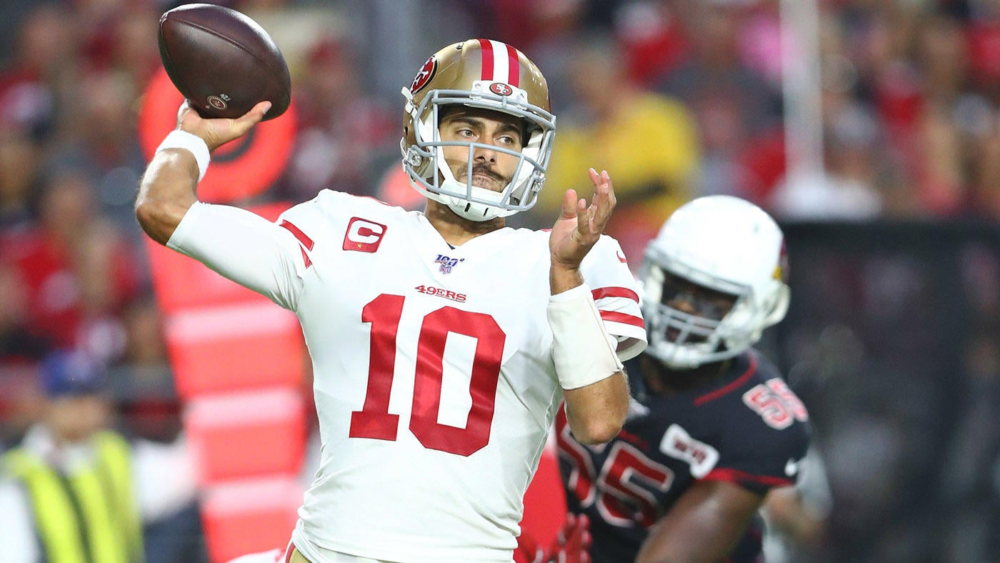 49ers Hold Off Late Cardinals Push Jimmy Garoppolo Heats Up