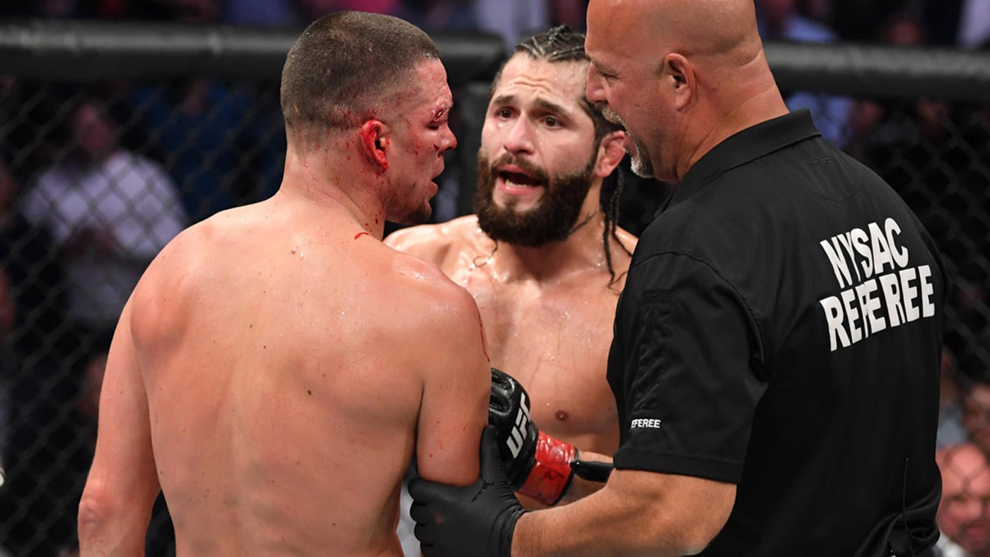 UFC 244 results, highlights: Stoppage spoils Jorge Masvidal's 'BMF' title win over Nate Diaz